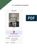 GUSTAV HUSAK. Czexhoslovak communist leader.docx