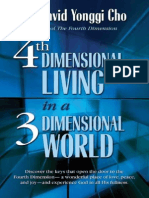 4th Dimensional Living in a 3 D - David Yonggi Cho