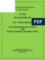 2012 San Diego Regional Supplement to Greenbook