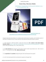 Brand Story_ Micromax Mobile