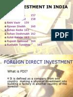 FDI Final Ppt