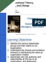 Ch2 of Org Behavior by Jones