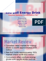 Integrated Marketing Communications Plan for Red Bull Energy Drink