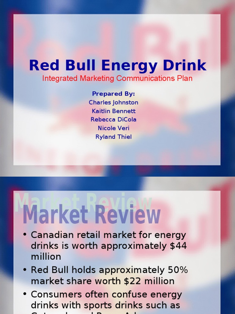 "integrated marketing communication for red bull 3 discuss effectiveness of red bulls sponsorships for example is this a good use of red bull's marketing the brand has ""integrated communication."