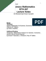 Business Mathematics HO (1)
