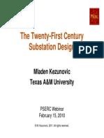 Kezunovic PSERC Public Webinar Slides Feb2011