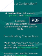 4.What is a Conjunction