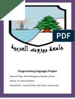 Pl Project scala