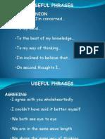 Speaking - Phrases