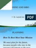 Planning & MBO