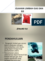 Pengolahan Limbah Gas Dan b3