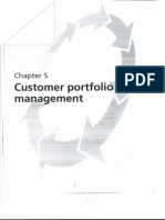 Customer Portfolio Management Chapter 5