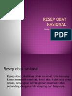 Dr.henny-Resep Obat Rasional