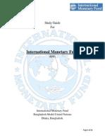 IMF StudyGuide, BANMUN 2014