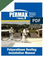 HEN SPF Roof Manual Spray Polyurethane foam