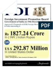 Foreign Investment Promotion Board approves 12 Proposals of Foreign Direct Investment in India as on 19th December 2014