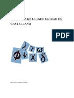 PALABRAS DE ORIGEN GRIEGO EN CASTELLANO.doc