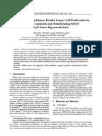 Procaine Inhibiting Human Bladder Cancer Cell Proliferation by Inducing Apoptosis and Demethylating APAF1 CpG Island Hypermethylated