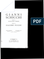 Puccini - GianniSchicchi Vocal score