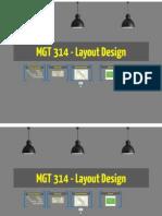 Layout design for production management