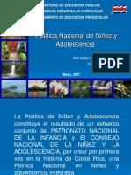 Presentación Política Nacional de NiñezAdolesc.ppt