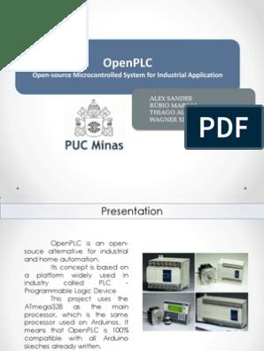 OpenPLC Presentation pdf | Input/Output | Electronic Circuits
