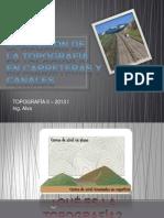 IMPORTANCIA DE LA TOPOGRAFÍA EN CARRETERAS.pptx