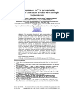Fano resonances in THz metamaterials