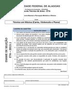 Prova - Tecnico em Musica.pdf
