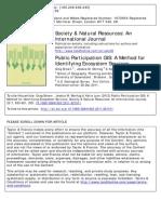 Public Participation GIS