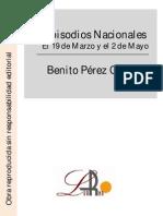 Pérez Galdos, Benito - Episodios Nacionales - El 19 de Marzo y el 2 de Mayo.pdf