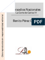 Pérez Galdos, Benito - Episodios Nacionales - La Corte de Carlos IV.pdf