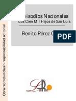 Pérez Galdos, Benito - Episodios Nacionales - Los Cien Mil Hijos de San Luis.pdf