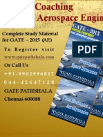 BEST STUDY MATERIAL FOR AEROSPACE ENGINEERING GATE
