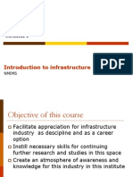 Infrastructure Consulting and Finance- Session 1