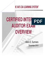 CIA Exam Overview_GS_Parts I and II
