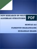 New Research on Neutrosophic Algebraic Structures