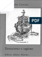 Margherita Cottone - Esoterismo e ragione