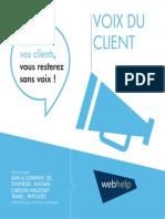 Livre Blanc Voix Du Client 20140320 Spread
