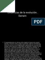 Las cinco evidencias de la evolución según Darwin.pptx
