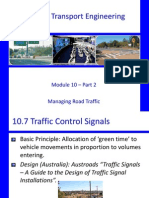 CIV3703 - 10B ManagingRoad Traffic