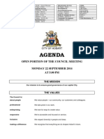 220914 Hobart City Council Agenda