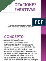 concepto caducidad de pleno derecho  en medidas cautelares Peru.ppt
