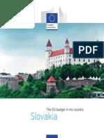 EU budget in my country Slovakia