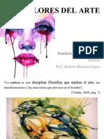 Los valores del Arte. CITAS estetica.pptx