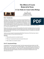 apes-coyote case study reading