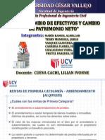 RENTAS Y CAMBIO DE EFECTIVO E PATRIMONIO NETO.pptx