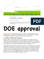 Ground Zero - DOE LNG Export Approval