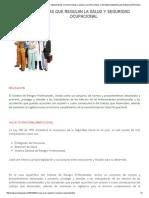NORMAS QUE REGULAN LA SALUD Y SEGURIDAD OCUPACIONAL _ SALUD OCUPACIONAL Y SISTEMA GENERAL DE RIESGOS PROFESIONALES.pdf