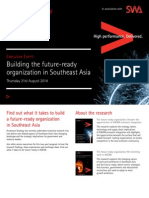 Executive Event Building the Future Ready Organization in Southeast Asia
